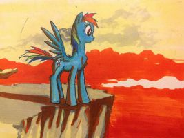 There you stood on the edge of your feather by kiriALL