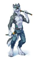 Silverwolf by Kahito-Slydeft