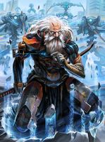 Galaxy Saga_The Old Soldier by Pampelmouss