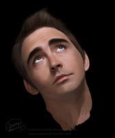 Lee Pace Looking up by MarinaSchiffer