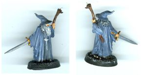 Gandalf Figure by marienoire