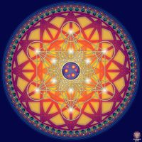 Metatrons Cube by OtherSideImage