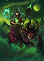 Commission - Wow-character by Vaejoun