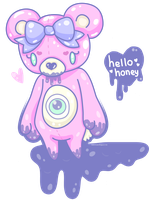 Hello Honey Bear by MissJediflip