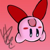 Kirby Colored by PlatinumxRose