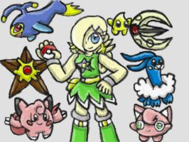 Rosalina's Pokemon Team by SurgeCraft
