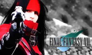 Vincent Valentine Wallpaper by mekk33