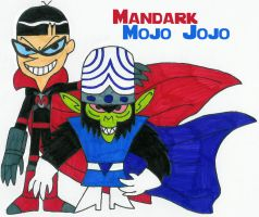 Mandark and Mojo Jojo by MCsaurus
