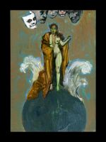 The Tarot Series - 124 by Adillo