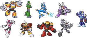 Mega Man 9 - RF CD Database Images by geno2925