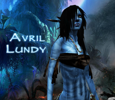 Avril as Na'vi - final image by Micro1993