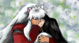 Inuyasha and Kikyo by Nerd-Is-The-Word89