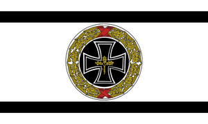 Alternate prussian cross flag by Arminius1871