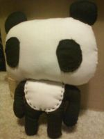 Panda Plush by hklovesboba