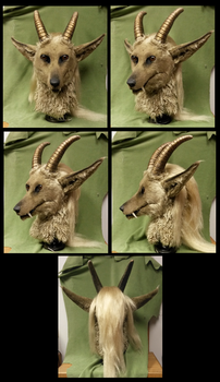 Gold Horned Beast AUCTION RELISTED by Eddie-Ka