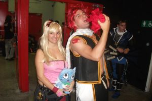 Lucy and Natsu ^^ by claudia1542