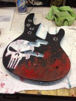 Punisher Guitar by picasoeffect