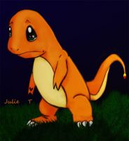 Sad Charmander by Julie-Tr