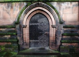 Side door, Chester Cathedral by popicok