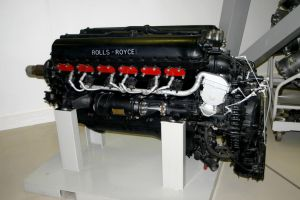 rolls-royce merlin engine by Sceptre63