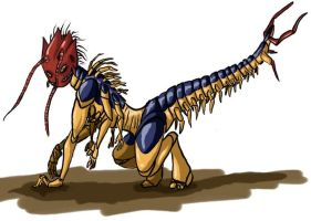 Centipede by Greyscale8