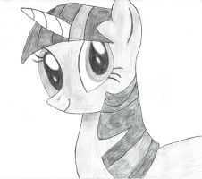 Twilight Sparkle: A Sketch by foreverCTY