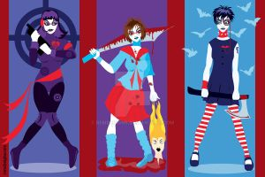 The Three Furies by remdesigns