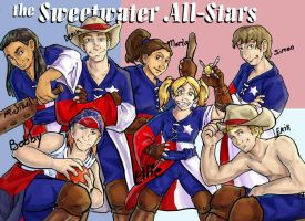 The Sweetwater All-Stars by xanykaos
