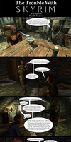 The Trouble with Skyrim: Family Matters by Sir-Douglas-of-Fir