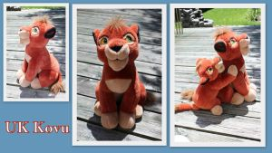UK sitting Kovu by Laurel-Lion