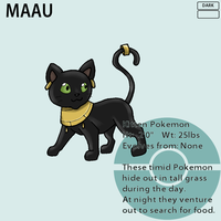 Fakemon_Maau by EmeraldSora