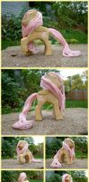 Fluttershy Woodwork IV by xofox