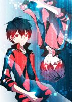 Remake : Shintaro Kisaragi_Matrix by SECONDARY-TARGET