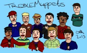 Treblemaker Muppets by MicrosuedeMouse