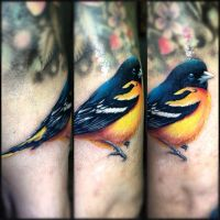 bird tattoo by eris09