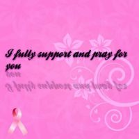 I support Woman With Breat Cancer! by SupernovaSword
