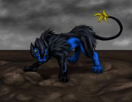 Luxray (female) by CloudsGirl7