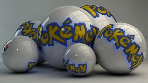 Pokemon Balls by Dracu-Teufel666