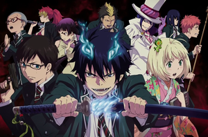 Ao no Exorcist Characters ID by LUISAGUADALUPE