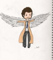 Castiel needs to be saved... by PocketSizedDevil