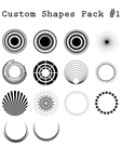 Circles Shapes by AimhaDesign