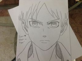 Eren from Shingeki no Kyojin by ShadowDragon97