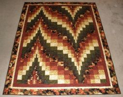 Kathy's Fall Bargello by quiltfreak8