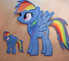 12 Inch Rainbow Dash by EthePony