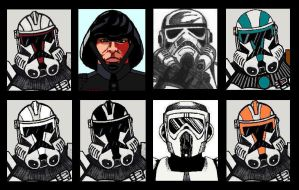 Galactic Empire Troopers by PLANETKURTH