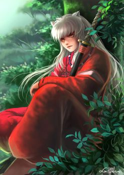 Inuyasha: Wind Before Rain by la-sera