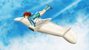 Nausicaa in Flight by conquerorsaint