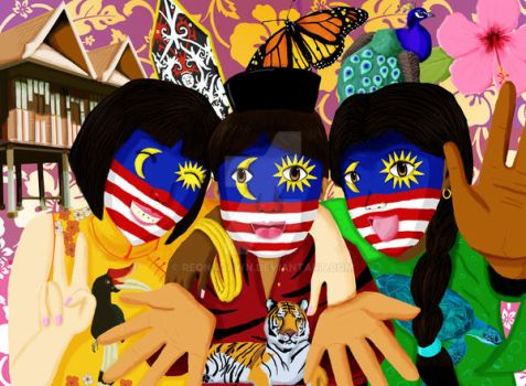 Malaysian Colours by ReonaDawn