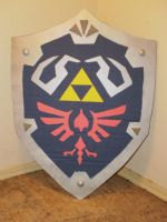 The Legend of Zelda Shield IV by Gryphon009