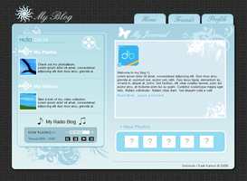 Blog Layout by deliriumds